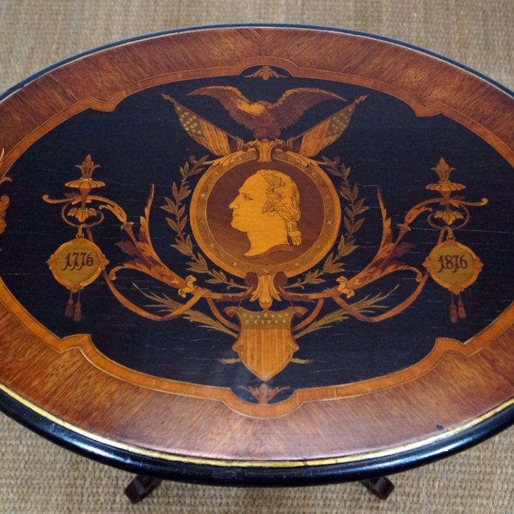 Herter Brothers Oval Washington Table